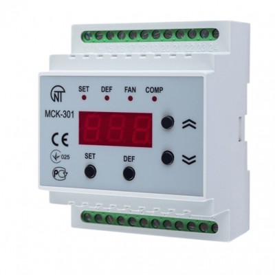 Контроллер управления температурными приборами МСК-301-8 (84, 85, 86)