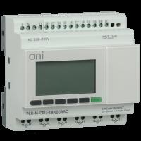 Микро ПЛК PLR-M. CPU DI12/DO06(R) 220В AC ONI