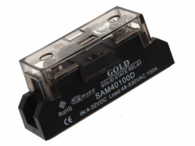 Твердотельные реле типа SAM-D (однофазные-модульного исполнения)