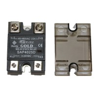 Однофазные твердотельные реле SAP-40 (коммутация при переходе тока через ноль 3-32V DC)