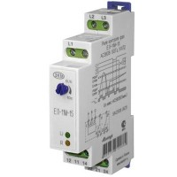 Реле контроля 3-х фазного напряжения типа ЕЛ-11М-15