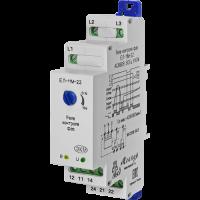 Реле контроля 3-х фазного напряжения типа ЕЛ-11М-22