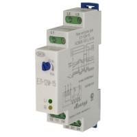 Реле контроля 3-х фазного напряжения типа ЕЛ-12М-15