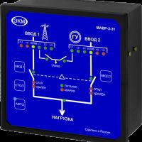 Модуль управления автоматического ввода резерва МАВР-3-31