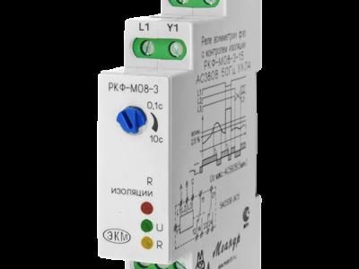 Реле контроля 3-х фазного напряжения типа РКФ-М08-3-15