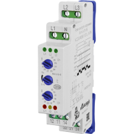 Реле контроля 3-х фазного напряжения для 4-х проводной схемы включения