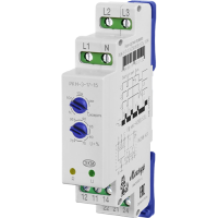 Реле контроля трехфазного фазного напряжения типа РКН-3-17-15