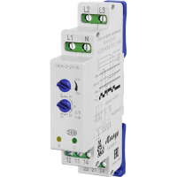Реле контроля трехфазного фазного напряжения типа РКН-3-21-15