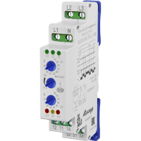 Реле контроля трехфазного фазного напряжения типа РКН-3-25-15