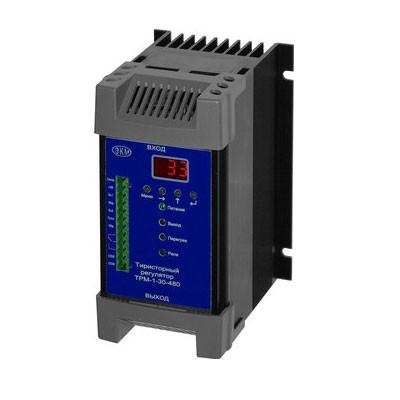 Однофазные тиристорные регуляторы мощности типа  ТРМ-1М