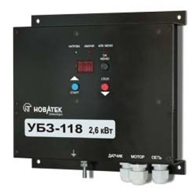 Универсальный блок защиты однофазных асинхронных электродвигателей - УБЗ-118