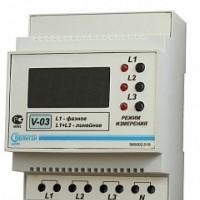 Вольтметр цифровой V-03